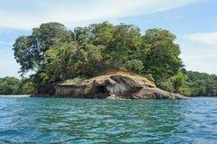 Punta Uva sur le rivage des Caraïbes de Costa Rica Photos libres de droits
