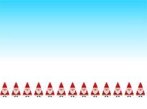 Puntada tradicional de Papá Noel Foto de archivo libre de regalías