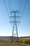 Puntal de la electricidad imagen de archivo