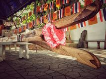 Puntal del árbol del bodhi fotos de archivo libres de regalías
