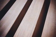Puntales de madera Fotos de archivo libres de regalías