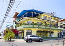Puntarenas,哥斯达黎加,城市街道 免版税库存图片