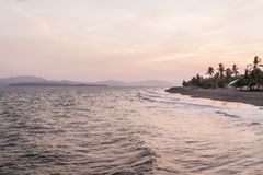 Puntarenas-Strandtouristenattraktion pazifisch von Costa Rica stockfotografie