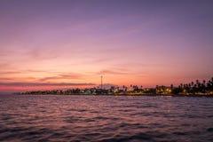 Puntarenas-Strandtouristenattraktion pazifisch von Costa Rica lizenzfreies stockbild