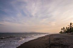 Puntarenas-Strandtouristenattraktion pazifisch von Costa Rica stockfotos
