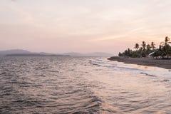 Puntarenas-Strandtouristenattraktion pazifisch von Costa Rica lizenzfreies stockfoto