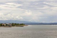 Puntarenas-Strandtouristenattraktion pazifisch von Costa Rica lizenzfreie stockbilder