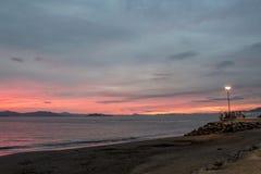 Puntarenas-Strandtouristenattraktion pazifisch von Costa Rica stockbild