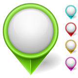 Puntatore di posizione della mappa royalty illustrazione gratis