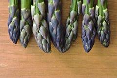 Punte dell'asparago Fotografie Stock Libere da Diritti