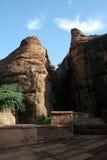 Punte della roccia Fotografie Stock