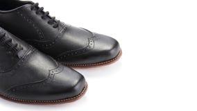 Punte delle scarpe, con copyspace fotografia stock