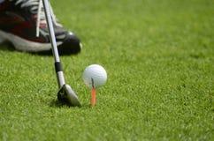 Punte di golf Immagini Stock Libere da Diritti