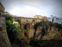 Punte Nuevo Bridge, Ronda, Spanje Stock Foto