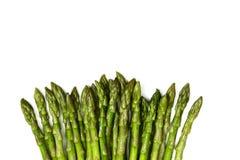 Punte verdi fresche dell'asparago Fotografia Stock Libera da Diritti