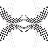 Puntea negro del fondo ilustración del vector