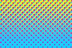 Punteado, estallido Art Background, estallido Art Pattern Fondo simbólico ilustración del vector