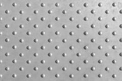 Punteggi la struttura, la struttura del punto in di piastra metallica Fotografia Stock Libera da Diritti