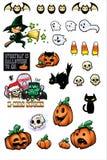 Puntelli di Halloween Fotografia Stock