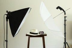 Puntelli per un'immagine sociale di profilo di media Fotografia Stock