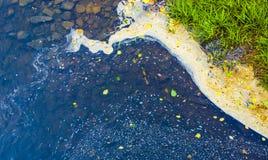 Puntello del fiume Fotografie Stock Libere da Diritti