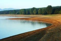 Puntello del lago Fotografie Stock Libere da Diritti