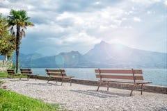 Puntello del lago Garda Fotografia Stock