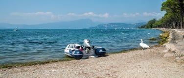 Puntello del lago Garda Fotografie Stock Libere da Diritti