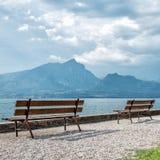 Puntello del lago Garda Fotografia Stock Libera da Diritti