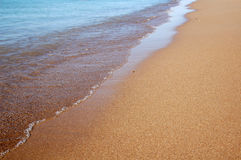 Puntello dell'oceano Fotografie Stock