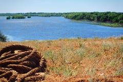 Puntello pieno di sole dei fiumi Immagine Stock Libera da Diritti