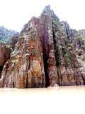 Puntello roccioso Fotografia Stock Libera da Diritti