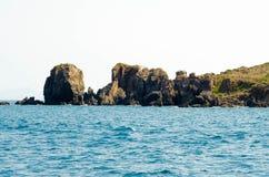 Puntello roccioso Fotografia Stock