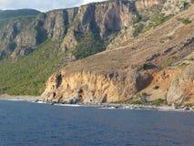 Puntello roccioso Fotografie Stock