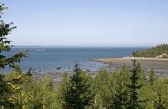 Puntello scenico del fiume della st Lawrence fotografia stock libera da diritti