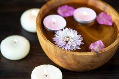 Punten voor aromatherapy, massage Ontspan en kuuroordthema royalty-vrije stock afbeeldingen