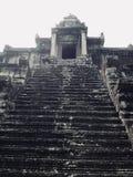 Punti al Bakan, la torre centrale di Angkor Wat immagini stock libere da diritti