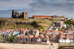 199 punti alle chiese di Whitby Fotografia Stock