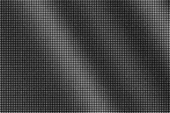 Punti bianchi su fondo nero Struttura di semitono di vettore Piccola pendenza del dotwork Semitono monocromatico illustrazione vettoriale