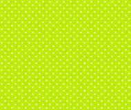 Punti bianchi verdi Immagini Stock