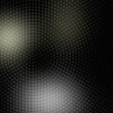 Punti circolari d'argento nel fondo scuro illustrazione di stock