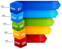 Punti Colourful delle informazioni illustrazione vettoriale