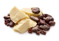 Punti del burro di cacao Vi Fotografia Stock Libera da Diritti