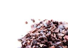 Punti del cacao Fotografia Stock
