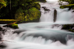 Punti del fiume di McKenzie Fotografie Stock