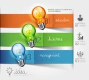 Punti della scala di affari che pensano idea della soluzione. Immagini Stock