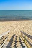 Punti della spiaggia Immagini Stock