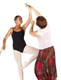 Punti di balletto fotografia stock libera da diritti
