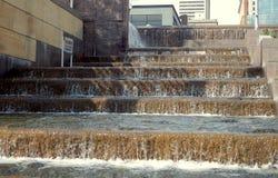 Punti di caduta dell'acqua Fotografie Stock