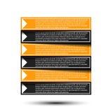 Punti di carta di progresso per l'esercitazione Illustrazione di Stock